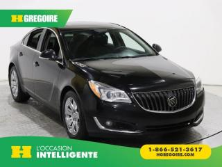 Used 2016 Buick Regal PREMIUM II AWD for sale in St-Léonard, QC