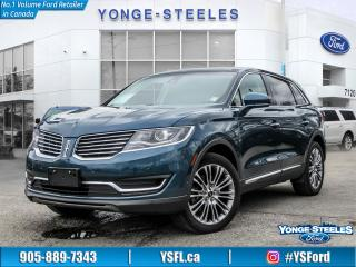 Used 2016 Lincoln MKX Reserve for sale in Thornhill, ON