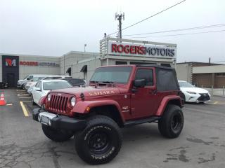 Used 2013 Jeep Wrangler SAHARA 4X4 - REMOTE STARTER for sale in Oakville, ON