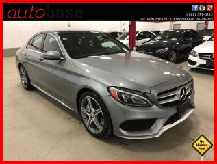 Used 2016 Mercedes-Benz C-Class C300 4MATIC PREMIUM PLUS SPORT RED INT! for sale in Vaughan, ON