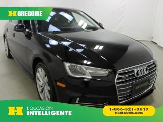 Used 2018 Audi A4 KOMFORT AWD for sale in St-Léonard, QC