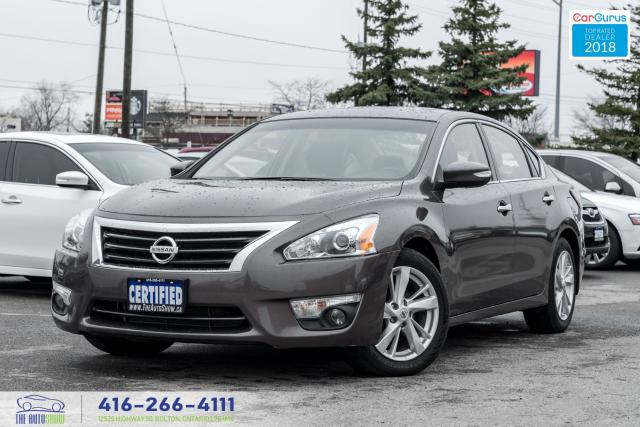 2014 Nissan Altima SL LEATHER/ROOF 1 OWNER NISSAN SERVICED CERTIFIED