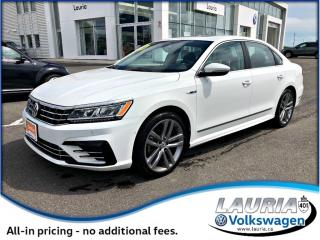 Used 2017 Volkswagen Passat 1.8 TSI Highline R-Line - Only 7,200kms! for sale in PORT HOPE, ON
