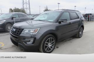 Used 2017 Ford Explorer Sport 3.5 Ecoboost for sale in St-Rémi, QC
