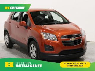 Used 2014 Chevrolet Trax LS A/C GR ELECT for sale in St-Léonard, QC