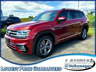 New 2019 Volkswagen Atlas 3.6L Highline R-Line 4Motion AWD for sale in PORT HOPE, ON