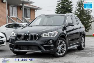 Used 2016 BMW X1 xDrive28i No Accidents Certified Serviced PanoRoof for sale in Bolton, ON