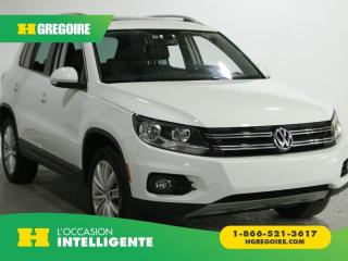 Used 2017 Volkswagen Tiguan COMFORTLINE AC GR for sale in St-Léonard, QC