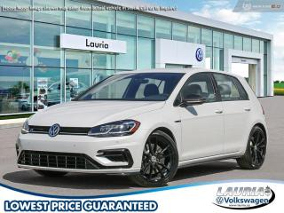 New 2019 Volkswagen Golf R 2.0 TSI 4Motion AWD Manual for sale in PORT HOPE, ON
