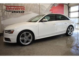 Used 2014 Audi S4 Technik Quattro for sale in Lévis, QC