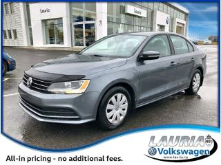 Used 2015 Volkswagen Jetta 2.0L Trendline+ AUTO for sale in PORT HOPE, ON