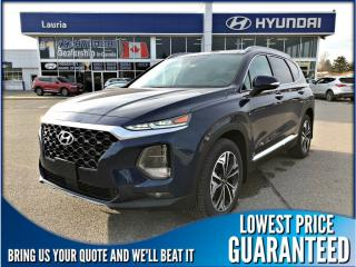 Used 2019 Hyundai Santa Fe 2.0T AWD Ultimate Auto *DEMO* for sale in Port Hope, ON