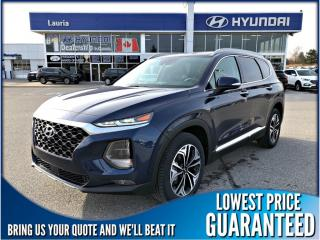 New 2019 Hyundai Santa Fe 2.0T AWD Ultimate Auto *DEMO* for sale in Port Hope, ON
