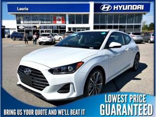 New 2019 Hyundai Veloster 2.0L Manual for sale in Port Hope, ON
