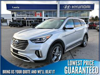 New 2019 Hyundai Santa Fe XL V6 AWD Ultimate 6-Passenger  *DEMO* for sale in Port Hope, ON