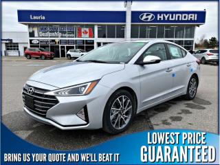 New 2019 Hyundai Elantra LUXURY AUTO for sale in Port Hope, ON