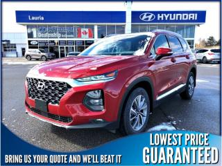New 2019 Hyundai Santa Fe 2.0T AWD Preferred w/Panoramic sunroof for sale in Port Hope, ON