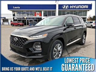 New 2019 Hyundai Santa Fe 2.0T AWD Luxury w/Dark Chrome Accents for sale in Port Hope, ON