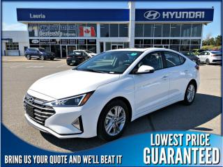New 2019 Hyundai Elantra PREFERRED AUTO for sale in Port Hope, ON