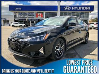 New 2019 Hyundai Elantra 1.6T Sport Manual for sale in Port Hope, ON