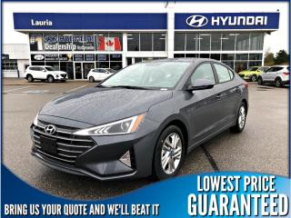 New 2019 Hyundai Elantra Preferred Auto w/Sun & Safety Pkg for sale in Port Hope, ON