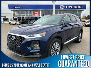 New 2019 Hyundai Santa Fe 2.0T AWD Luxury Auto for sale in Port Hope, ON