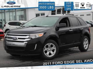 Used 2011 Ford Edge SEL AWD CUIR TOIT for sale in Victoriaville, QC