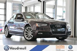 Used 2015 Audi A5 Progressiv * S-LINE * NAV for sale in Vaudreuil-Dorion, QC