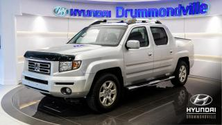 Used 2007 Honda Ridgeline EX-L 4WD + NAIV + DVD + TOIT + WOW !! for sale in Drummondville, QC