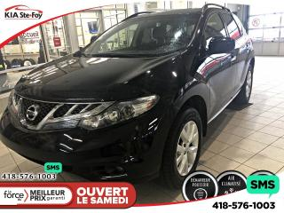Used 2012 Nissan Murano S (CVT) *BOUTON POUSSOIR *BIZONE *A/C* for sale in Québec, QC