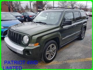 Used 2008 Jeep Patriot Ltd Condition for sale in Longueuil, QC