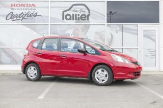 Used 2014 Honda Fit DX ***GARANTIE 10 ANS/200 000 KM*** for sale in Québec, QC
