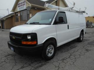 Used 2013 Chevrolet Express 2500 2500HD Cargo 4.8L Loaded Rack Divider Shelves 178K for sale in Etobicoke, ON