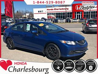 Used 2015 Honda Civic LX ***MANUEL***UN PROPRIÉTAIRE*** for sale in Charlesbourg, QC