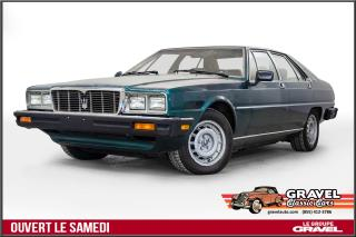 Used 1980 Maserati Quattroporte for sale in Montréal, QC