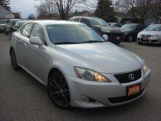 Used 2008 Lexus IS 350 Sunroof/Leather/Auto Push Start for sale in Ajax, ON