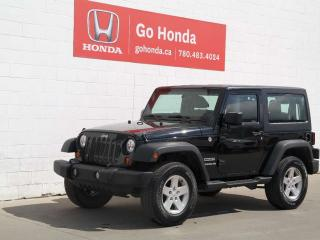 Used 2012 Jeep Wrangler SPORT. 4WD for sale in Edmonton, AB