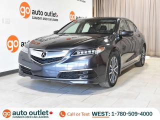 Used 2015 Acura TLX V6 Tech SH-AWD, NAV, Backup Camera, Lane Keep Assist and more! for sale in Edmonton, AB