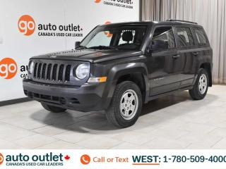 Used 2016 Jeep Patriot ONE OWNER!!!! SPORT, 4WD, STEERING WHEEL CONTROLS, CRUISE CONTROL, CLOTH SEATING, AM/FM RADIO, A/C for sale in Edmonton, AB