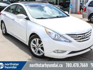 Used 2012 Hyundai Sonata LTD LEATHER/SUNROOF/HEATEDSEATS/BACKUPCAM for sale in Edmonton, AB