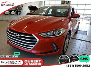 Used 2017 Hyundai Elantra *GLS*CAMÉRA*BLUETOOTH*ANDROID/APPLECARP for sale in Québec, QC