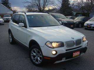 Used 2009 BMW X3 30i Panoramic Sunroof/Leather for sale in Ajax, ON