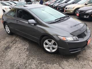 Used 2010 Honda Civic EX/ AUTO/ SUNROOF/ PWR GROUP/ ALLOYS! for sale in Scarborough, ON