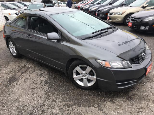 2010 Honda Civic EX/ AUTO/ SUNROOF/ PWR GROUP/ ALLOYS!