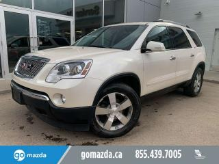 Used 2012 GMC Acadia SLT1 AWD LEATHER BACKUP CAM CAPTAIN CHAIRS for sale in Edmonton, AB