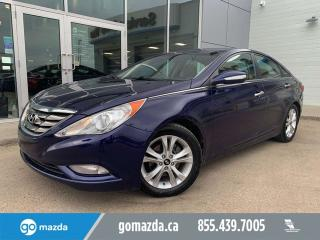 Used 2011 Hyundai Sonata Limited LEATHER SUNROOF 2 SETS TIRES GREAT CONDITION for sale in Edmonton, AB