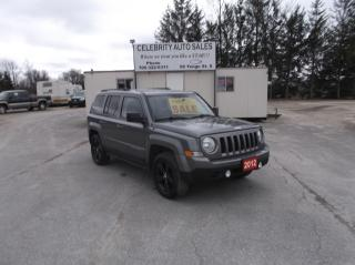 Used 2012 Jeep Patriot 4X4 NORTH EDITION for sale in Elmvale, ON