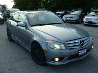 Used 2008 Mercedes-Benz C-Class 3.0L Bluetooth/Leather/Sunroof for sale in Ajax, ON