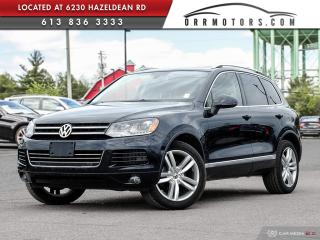 Used 2012 Volkswagen Touareg EXECLINE for sale in Ottawa, ON