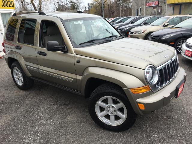 2006 Jeep Liberty LIMITED/ AUTO/ 4x4/ PWR GROUP/ ALLOYS/ DRIVES WELL